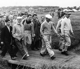 Hogan at Carnoustie Scotland/>