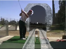 right sided golf swing instruction